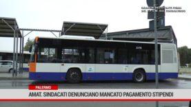 Palermo. Amat. sindacati denunciano mancato pagamento stipendi