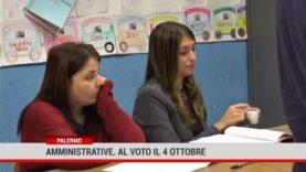 Palermo. Amministrative. Al voto il 4 ottobre
