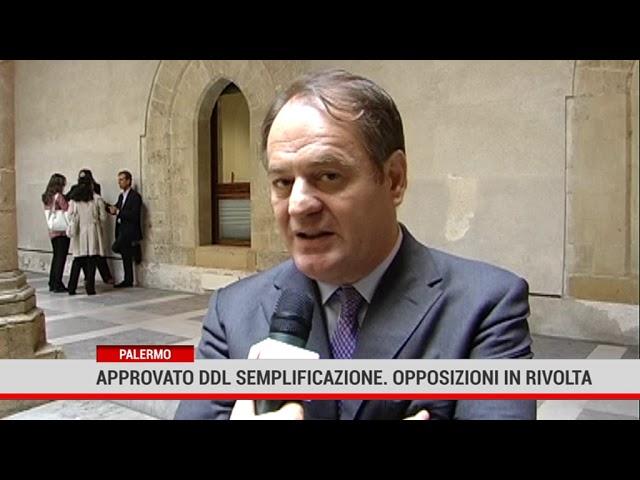 Palermo. Approvato ddl  semplificazione. Opposizioni in rivolta