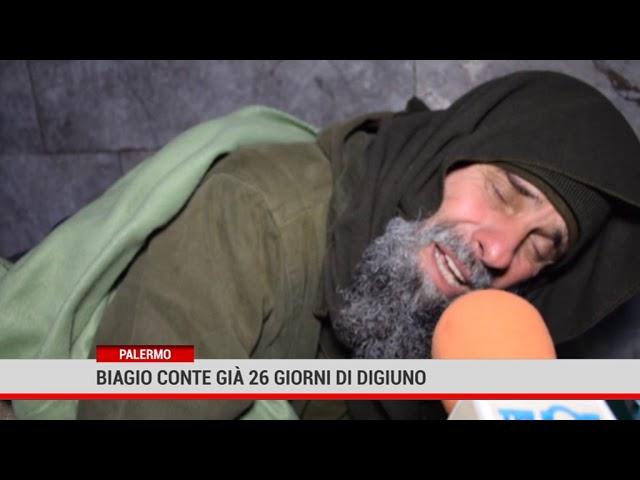 Palermo. Biagio Conte già 26 giorni di digiuno