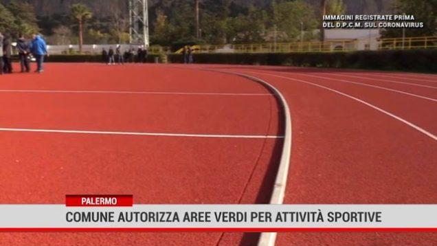Palermo. Comune autorizza l'utilizzo delle aree verdi per attività sportive