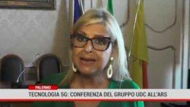 Palermo. Conferenza Stampa dell'Udc all'Ars sulla tecnologia 5G