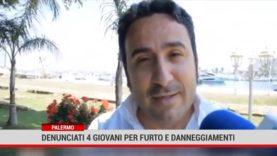 Palermo. Denunciati 4 giovani per furto e danneggiamenti