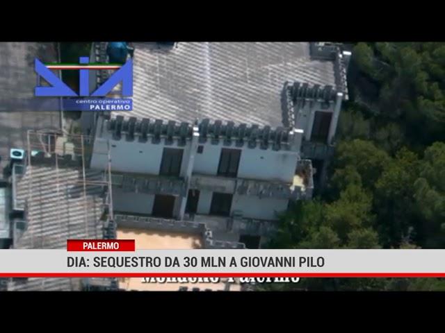 Palermo. Dia:  sequestro da 30 milioni a Giovannni Pilo