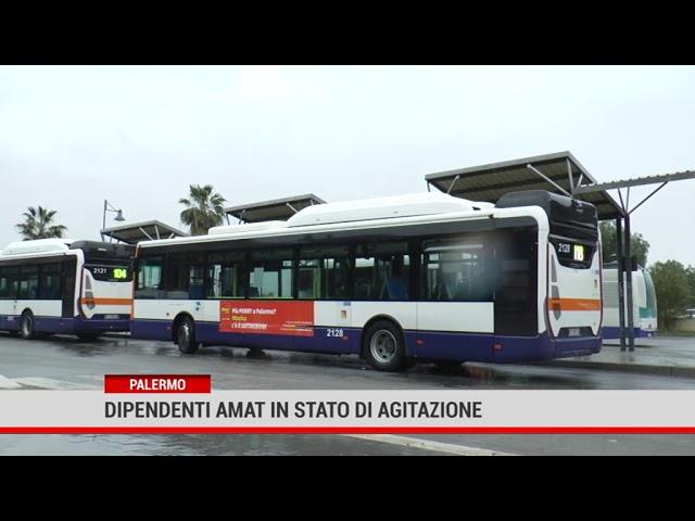 Palermo. Dipendenti Amat in stato di agitazione