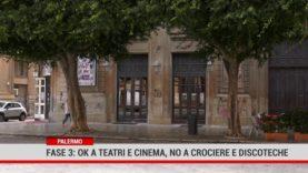 Palermo. Fase 3: ok a teatri e cinema, no a crociere e discoteche