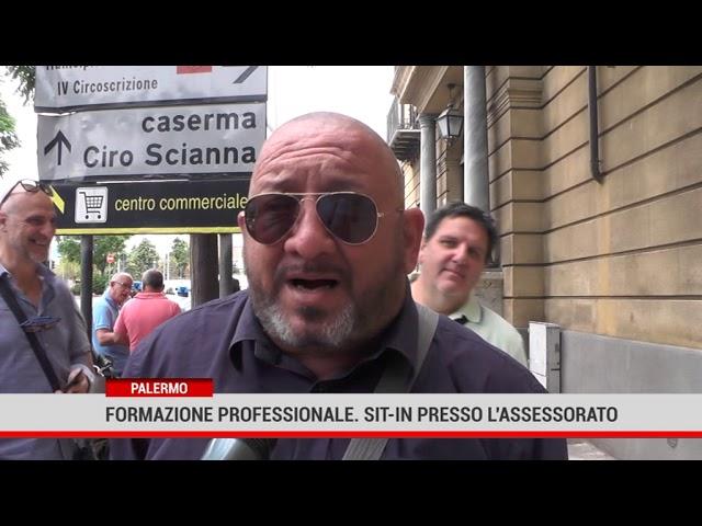 Palermo. Formazione professionale, sit-in presso l'assessorato