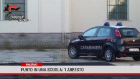 Palermo. Furto in una scuola: 1 arresto