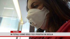 Palermo. In totale sono solo 153 i positivi in Sicilia