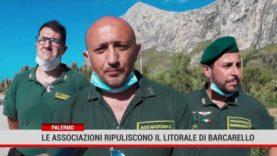 Palermo. Le associazioni ripuliscono il litorale di Barcarello