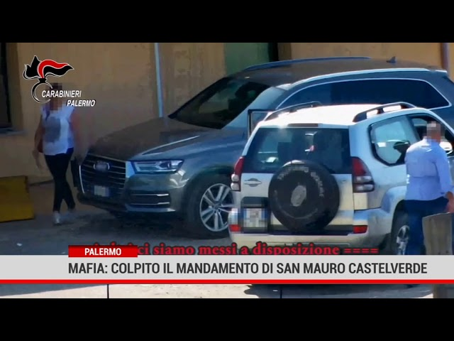 Palermo. Mafia: colpito il mandamento di San Mauro Castelverde