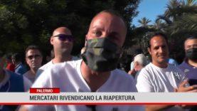Palermo. Mercatari rivendicano la riapertura