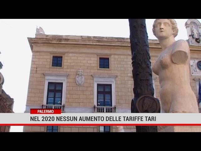 Palermo. Nel 2020 nessun aumento delle tariffe Tari