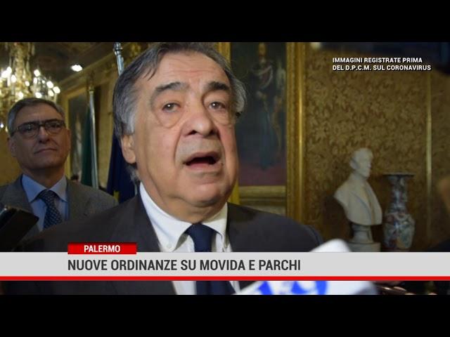 Palermo. Nuove ordinanze su movida e parchi