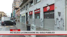 Palermo. Più veloce la concessione del suolo pubblico
