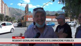Palermo. Residenti segnalano mancanza di illuminazione pubblica