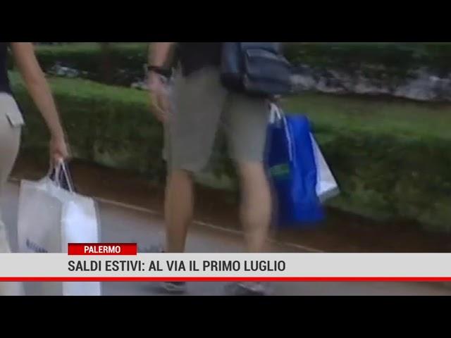 Palermo. Saldi estivi: al via il 1 luglio