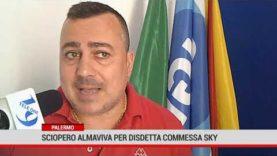 Palermo. Sciopero Almaviva per disdetta commessa Sky