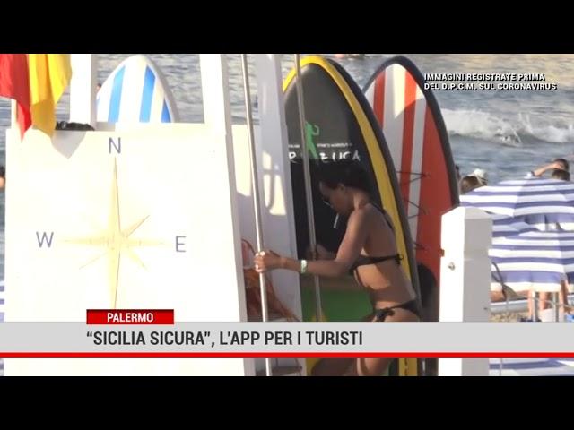 """Palermo. """"Sicilia sicura"""", l'app per i turisti"""