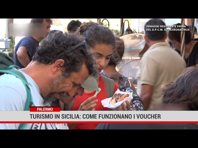 Palermo. Turismo in sicilia : come funzionano i voucher
