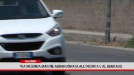Palermo. Via Messina Marine  abbandonata all'incuria e al degrado