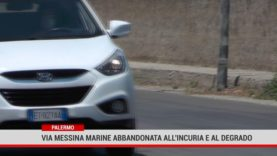 Palermo. Via Messina Marine  abbandonata all'incuria e al degrado
