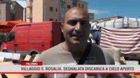 Palermo. Villaggio Santa Rosalia, segnalata discarica a cielo aperto