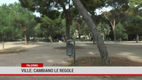 Palermo. Ville: cambiano le regole