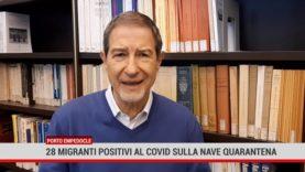 Porto Empedocle. 28 migranti positivi al Covid sulla nave quarantena