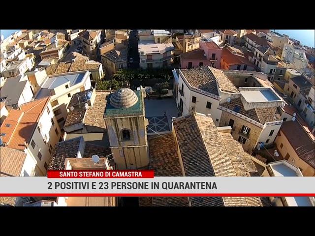 Santo Stefano di Camastra. 2 positivi e 23 persone in quarantena