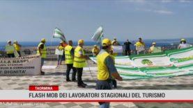 Taormina. Flash mob dei lavoratori stagionali del turismo