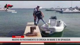 Trapani. Nuovo ritrovamento di droga in mare e in spiaggia