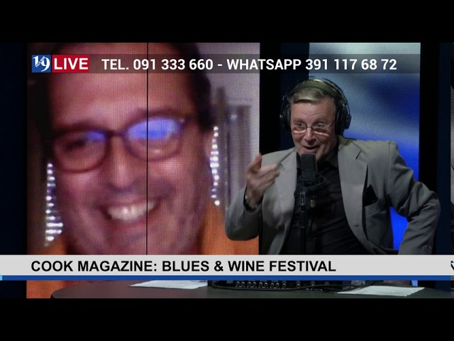 19 LIVE – COOK MAGAZINE: BLUES E WINE FESTIVAL