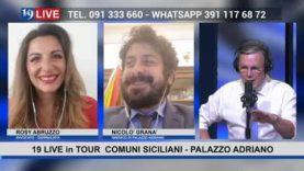 19LIVE in TOUR COMUNI SICILIANI PALAZZO ADRIANO