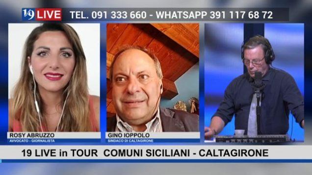 #19LIVE in TOUR – COMUNI SICILIANI – #CALTAGIRONE con il Sindaco @GinoIoppolo