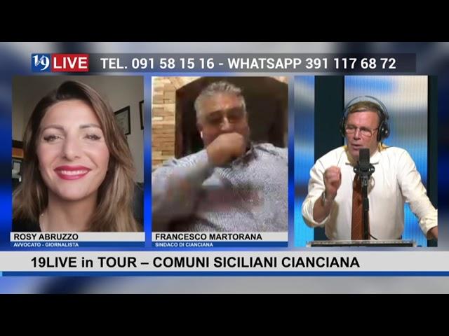 19LIVE in TOUR – COMUNI SICILIANI  – CIANCIANA