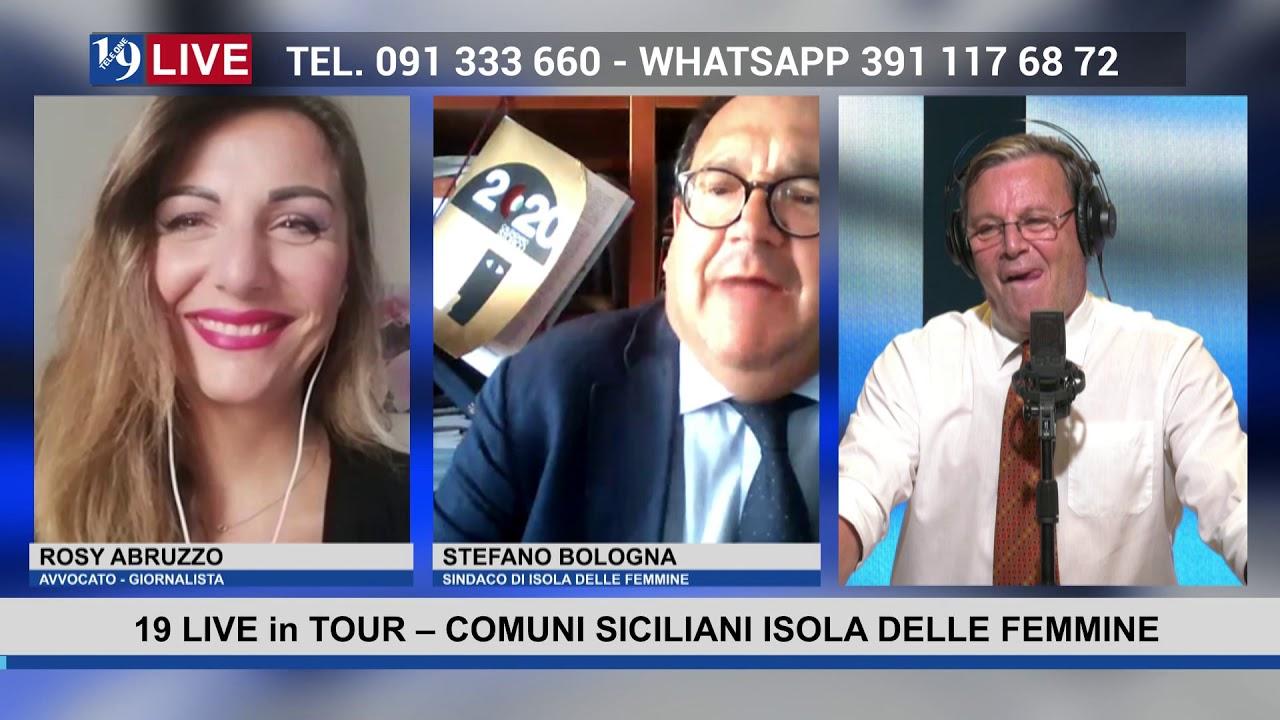 19LIVE in TOUR   COMUNI SICILIANI – ISOLA DELLE FEMMINE