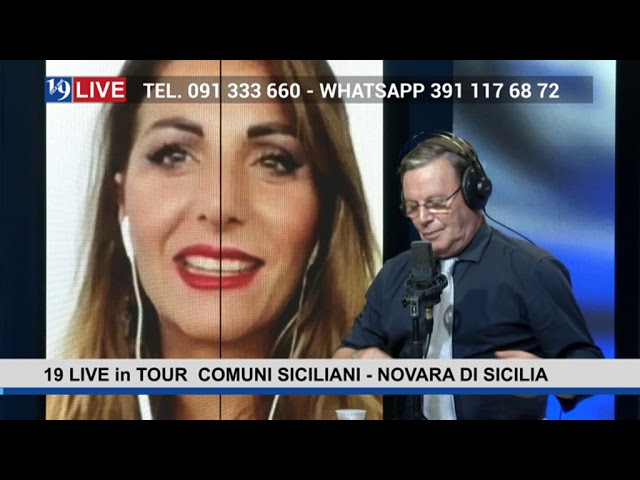 19LIVE in TOUR – COMUNI SICILIANI – NOVARA DI SICILIA con il Sindaco @GinoBertolami