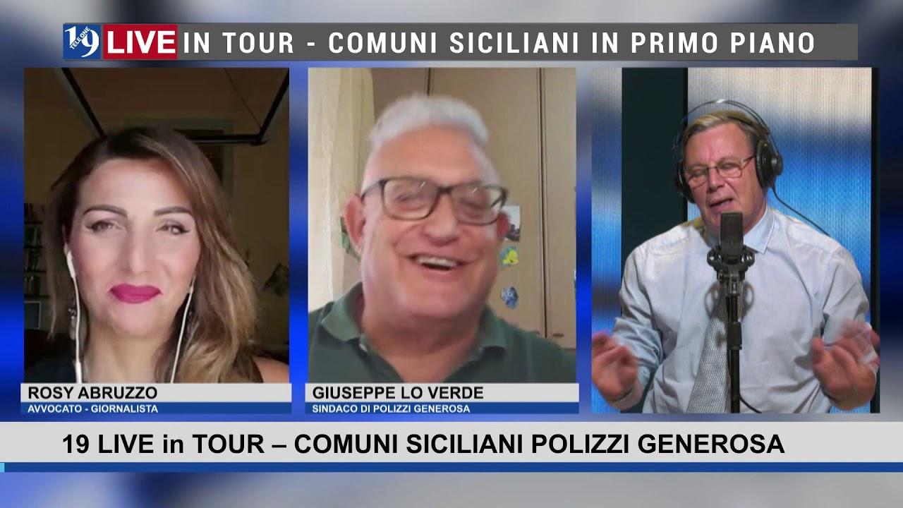 19LIVE in TOUR  Comuni Siciliani: #PolizziGenerosa, #Lipari, #Taormina, #Isoladellefemmine, #Ustica.