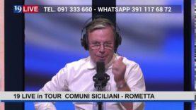 19LIVE in TOUR: COMUNI SICILIANI – ROMETTA