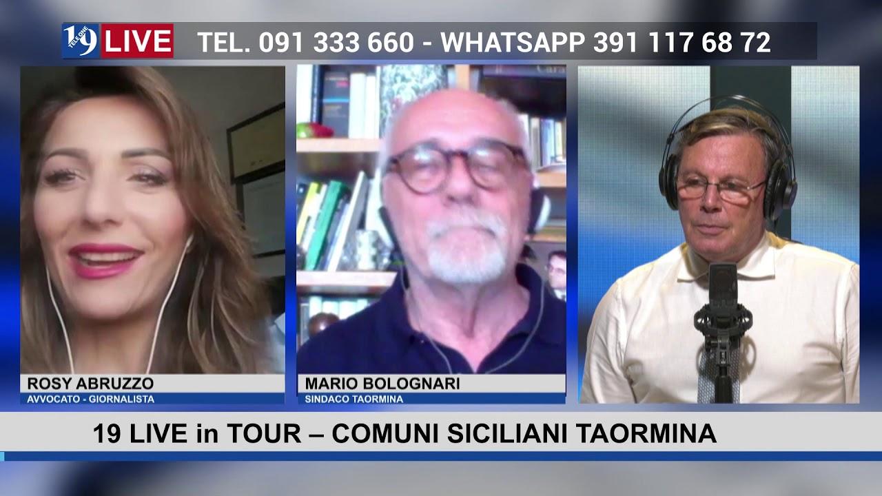 19LIVE in TOUR   COMUNI SICILIANI   TAORMINA