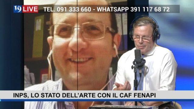 #19LIVE  INPS, LO STATO DELL'ARTE,  con @VincenzoPrestigiacomo #CAFFENAPI