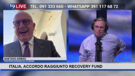 19LIVE – ITALIA, ACCORDO RAGGIUNTO RECOVERY FUND, intervento dell'On. @GaetanoArmao.