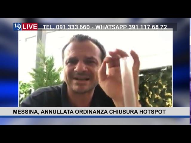 19LIVE – MESSINA, ANNULLATA ORDINANZA CHIUSURA HOTSPOT intervento del Sindaco @CatenoDeLuca