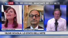 19LIVE SCUOLA: LO STATO DELL'ARTE con @DanielaCrimi, @AntonelloGiannelli e @CaterinaAltadonna.