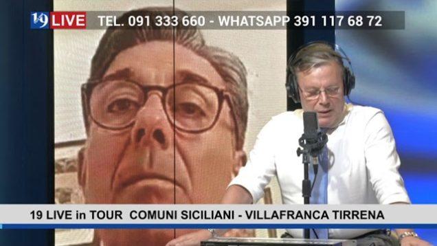 #19LIVEinTOUR COMUNI SICILIANI – VILLAFRANCA TIRRENA con il Sindaco @MatteoDeMarco e @GiuseppeOliva