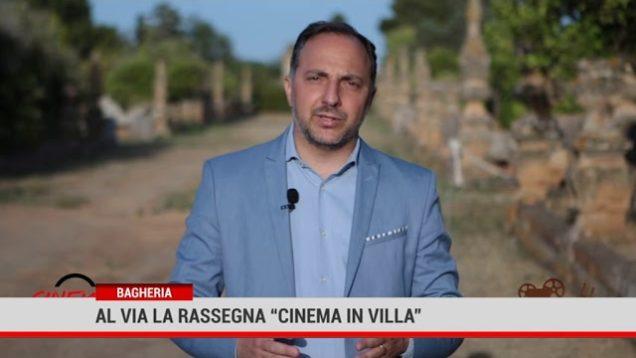 """A Bagheria il """"Cinema in villa"""""""