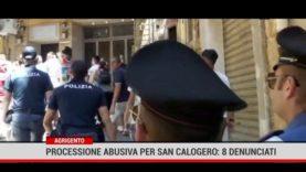 Agrigento. Processione abusiva per San Calogero: 8 denunciati