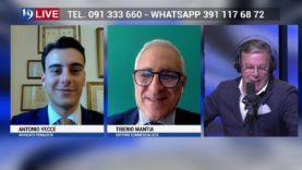 ANTONIO VECCE E TIBERIO MANTIA IN DIRETTA TV SU 19 LIVE