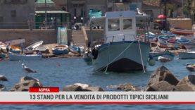 Aspra. 13 stand per la vendita di prodotti tipici siciliani